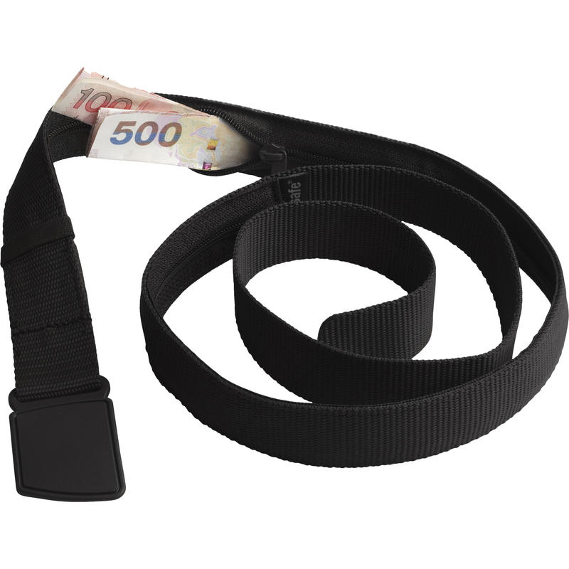 Cashsafe Anti-Theft Travel Belt Wallet Black