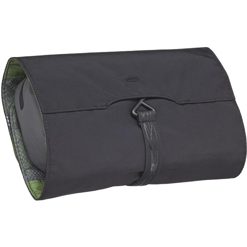 Trousse Lavatio pour nécessaire de toilette Vert gazon/Gris ardoise