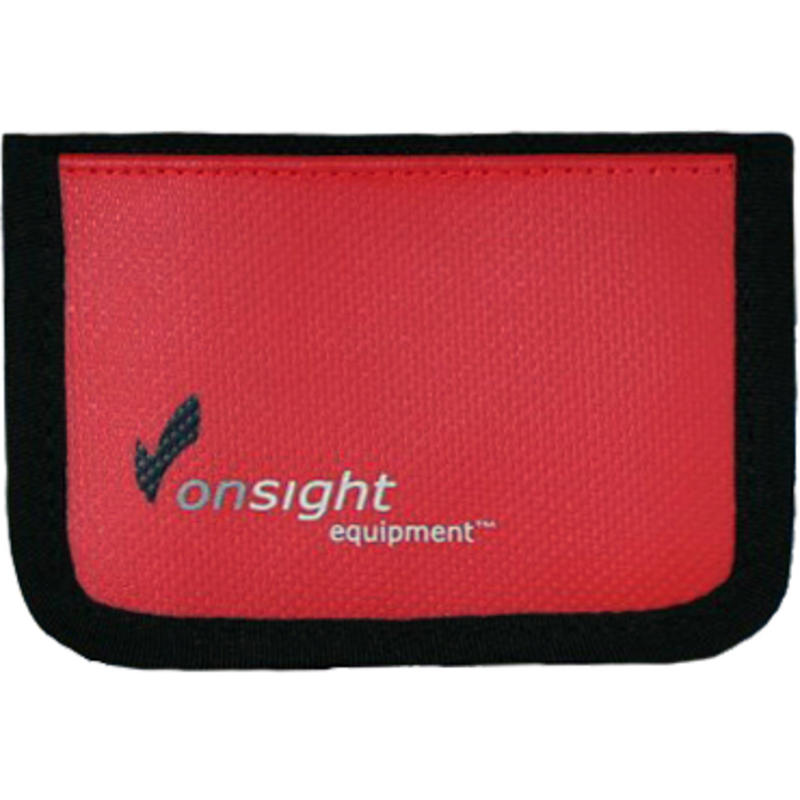 RFID Shield Micro Wallet Red