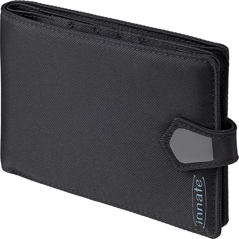 Portefeuille à passeport Deltos RFID Noir/herbe
