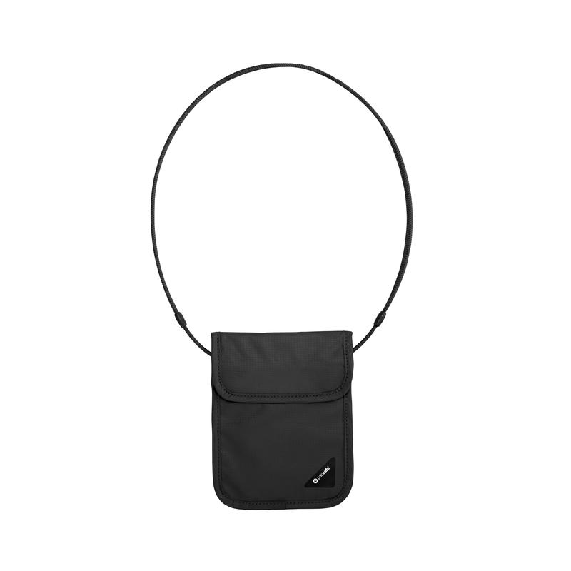 Coversafe X75 RFID Neck Pouch Black