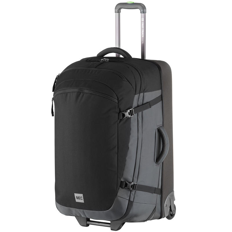 Fast-Track 3 Rolling Duffle Black/Eclipse