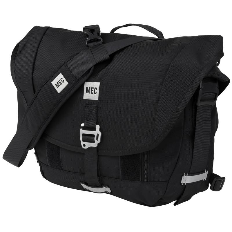 Vélocio Noire Messenger Bag Black