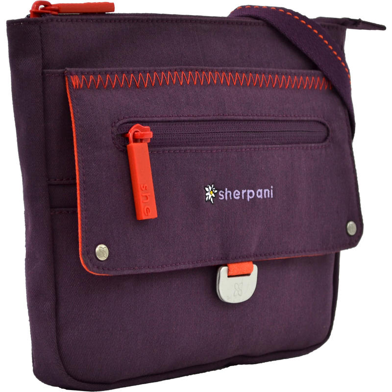 Zooma Moda Medium Cross Body Bag Plum