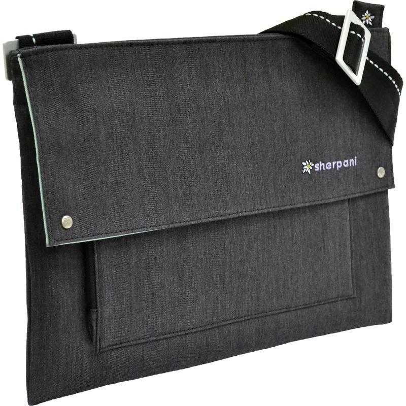 Chelsea Shoulder Bag Black Heather