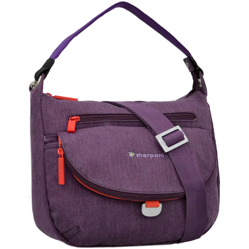 Vibe Medium Cross Body Bag Plum