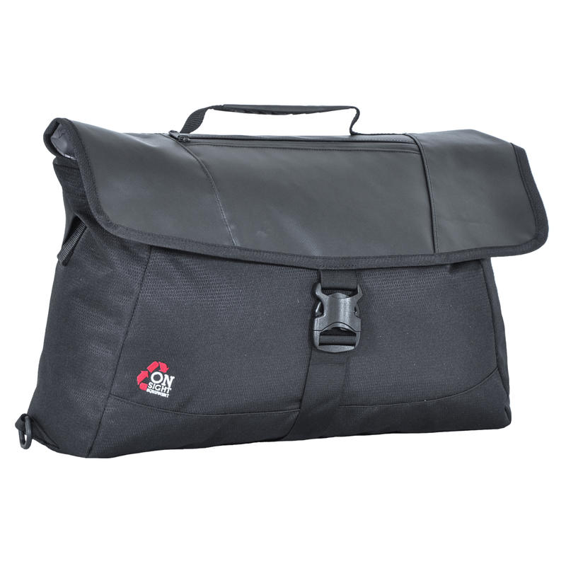 Saigon 3 Messenger Bag Black