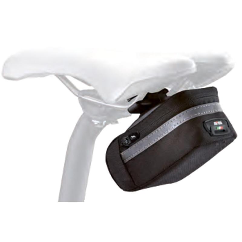 Sac de selle de vélo Soft 350 Roller 2.1 Noir