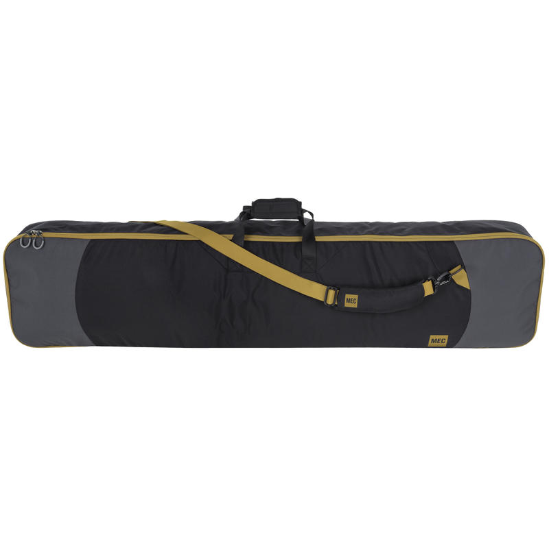 Snowboard Bag Coal/Brass