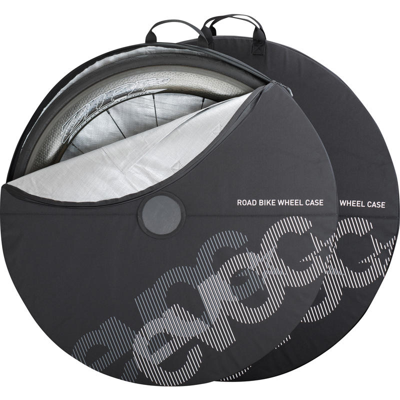 Road Bike Wheel Covers Black