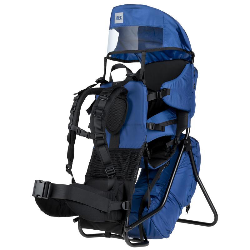 Happytrails Child Carrier Backpack Navy Blue