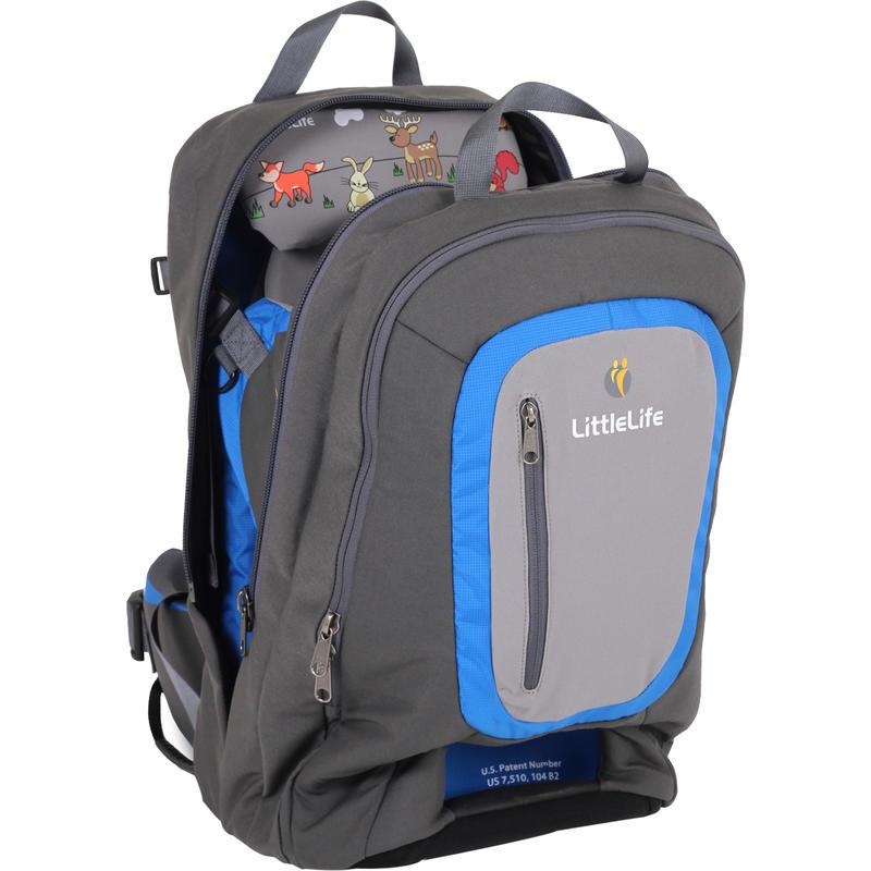 Porte-bébé Ultralight Convertible S3 Charbon de bois/Bleu
