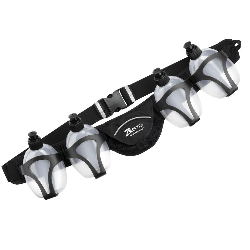 Nutrition Belt (4 Bottles) Black