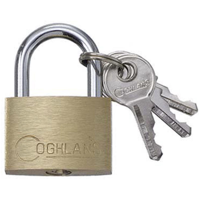 30mm Brass Padlock