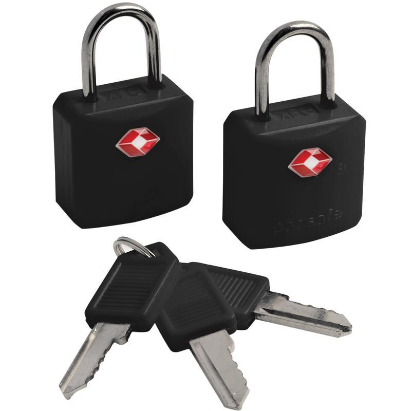 Ensemble de deux cadenas à clé Prosafe 620 Noir