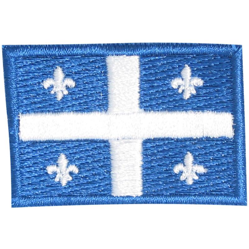 Drapeau du Québec 3,5 x 5 cm
