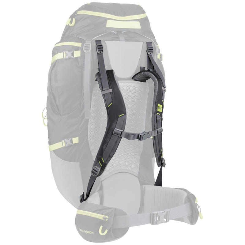 EOS 80 Shoulder Harness Coal/Peridot