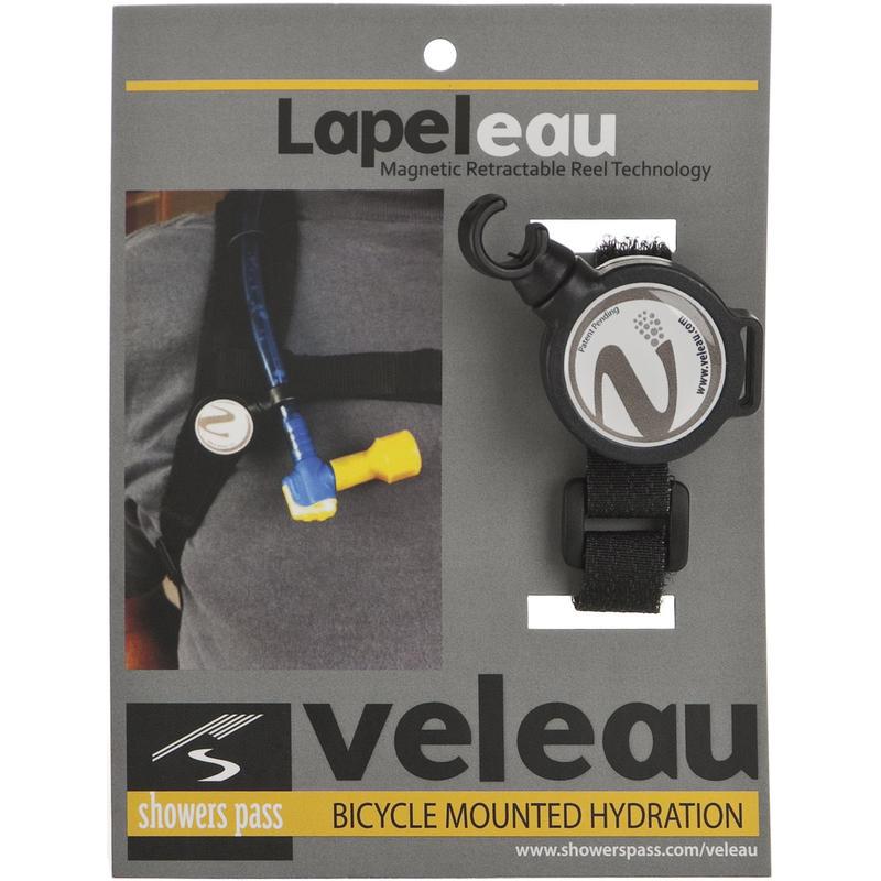 LapelEau Magnetic Retractable Reel Goldenrod/Black