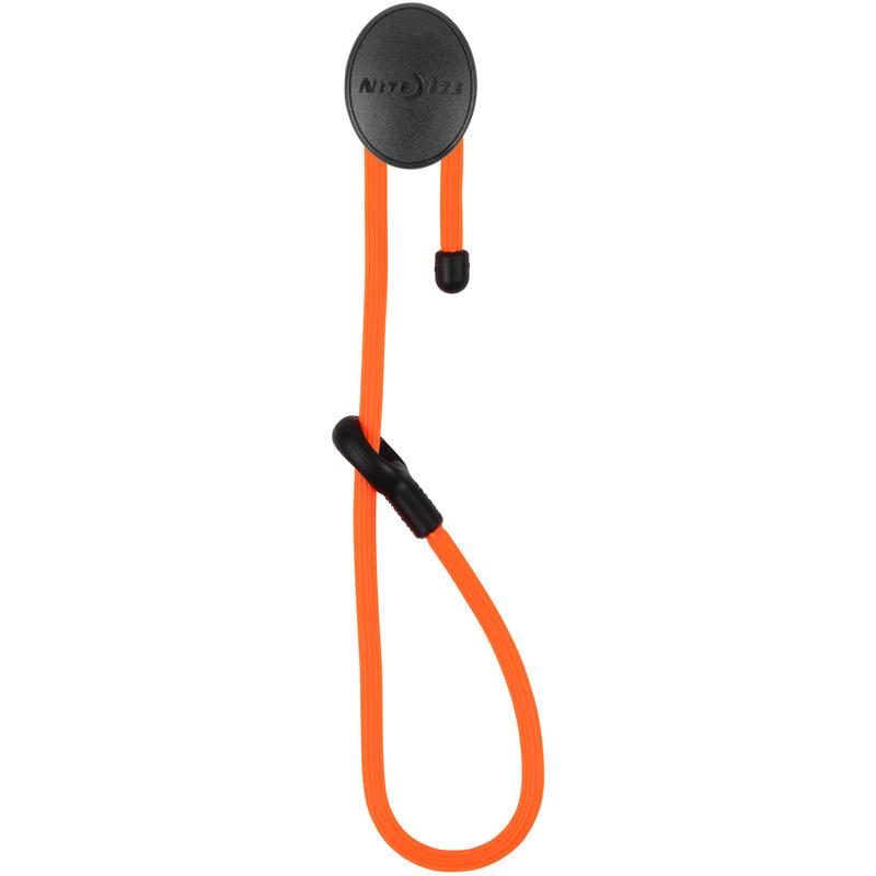 Attaches et crochets Gear Tie Orange vif