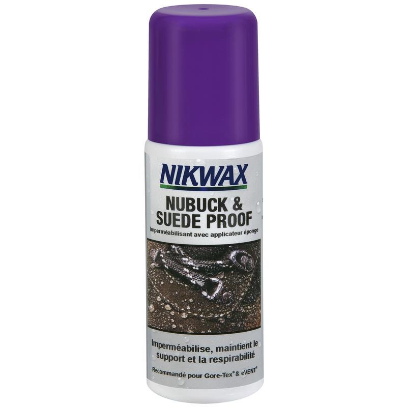 Enduit imperméabilisant pour nubuck (en anglais)