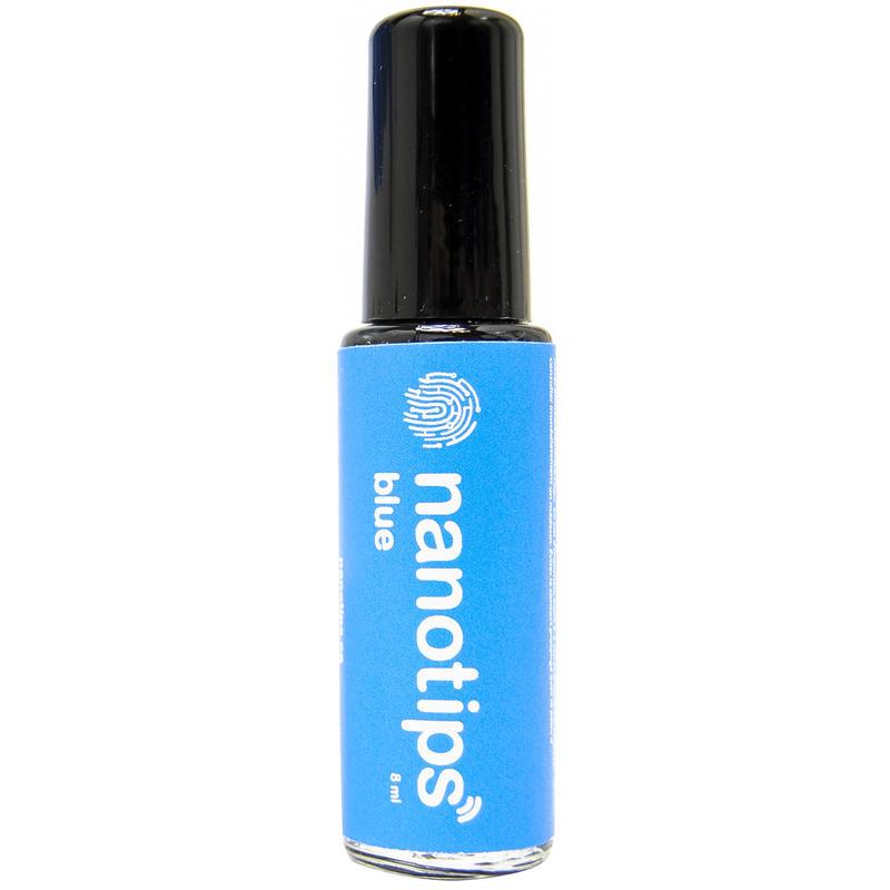 Solution conductrice Nanotips Touchscreen Bleu