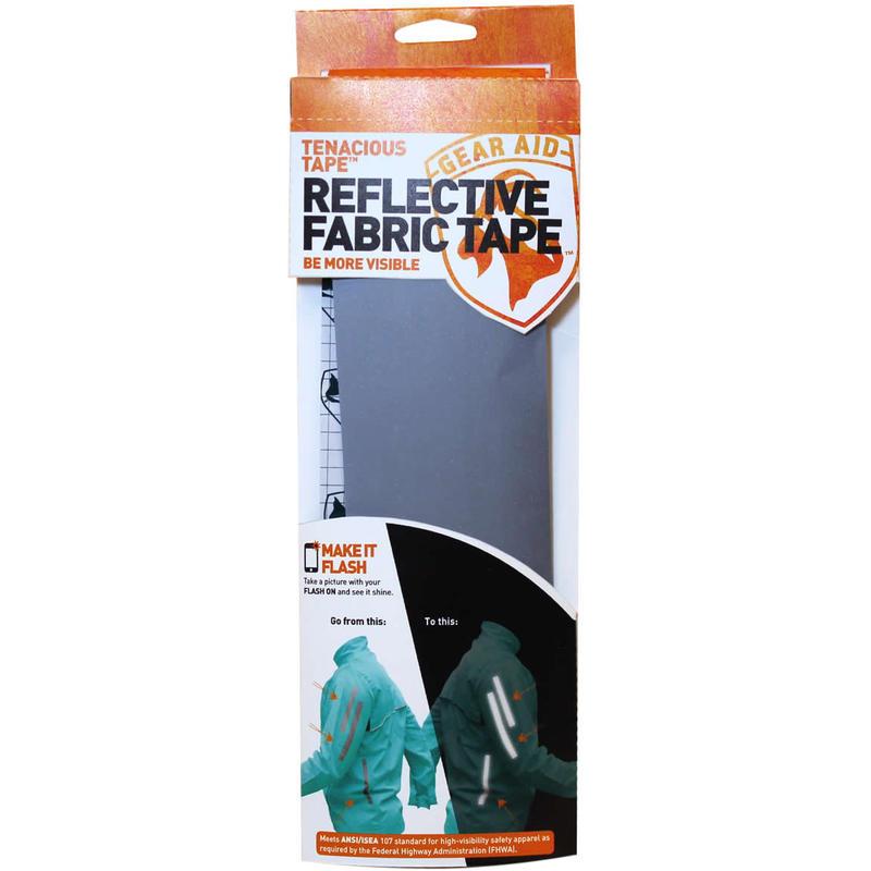 Tenacious Tape Reflective Fabric Tape Silver