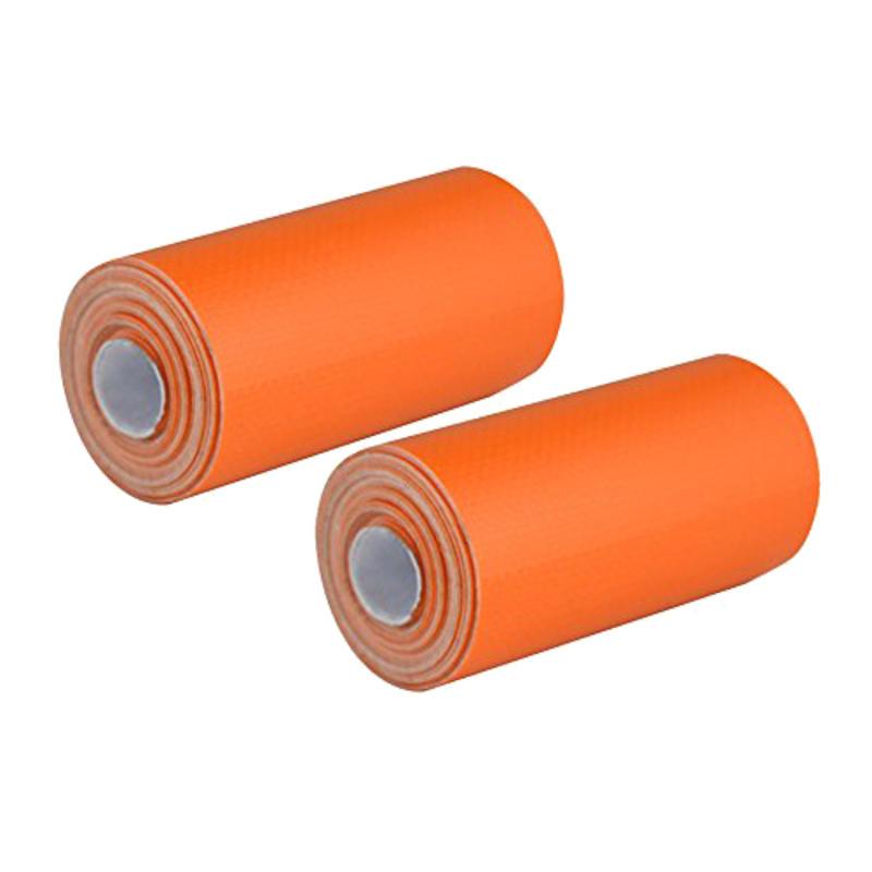 Mini-rouleaux de ruban adhésif en toile Orange