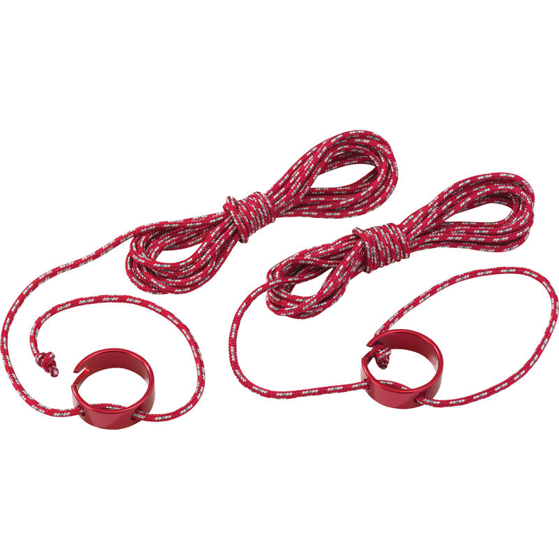 Tent Guylines Large (2-Pack) Red