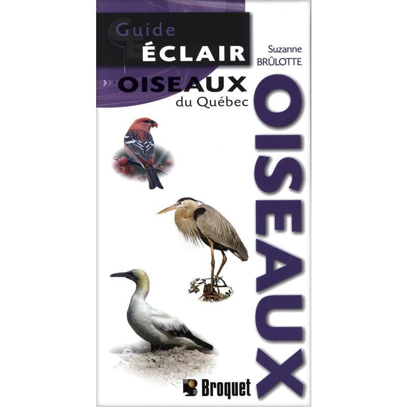 Guide éclair - Oiseaux du Québec