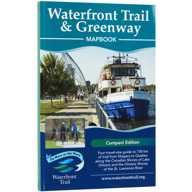 Waterfront Trail& Greenway Mapbook Compact Ed