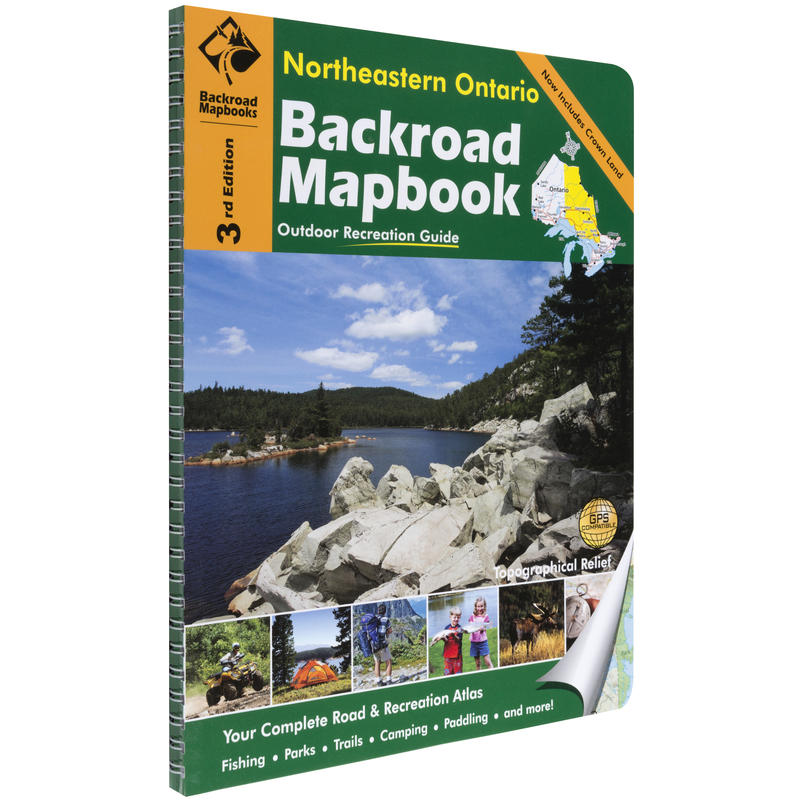 Mapbook: Northeastern Ontario 3rd Edition