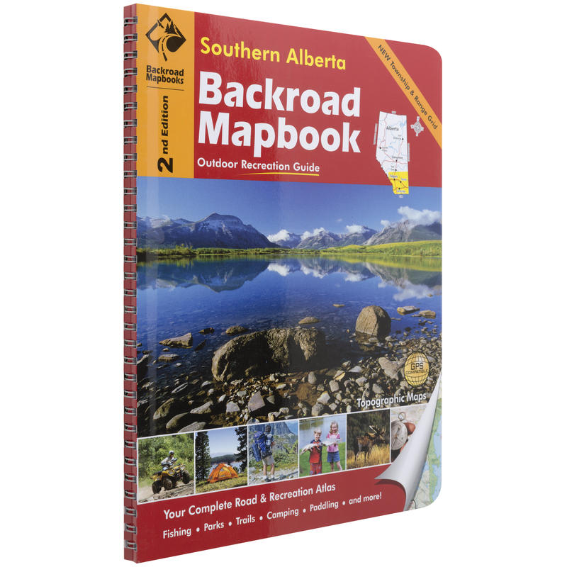 Mapbook: Southern Alberta 2nd Edition