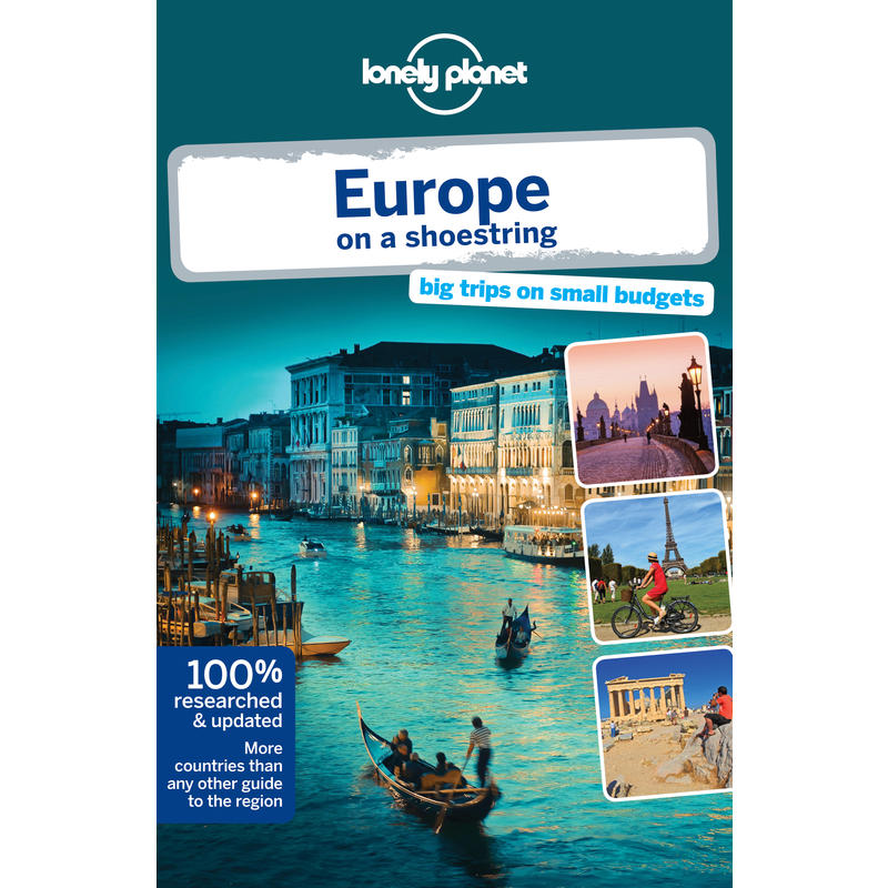 Europe on a Shoestring 8e édition