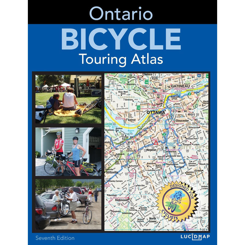 Ontario Bicycle Touring Atlas 7e édition