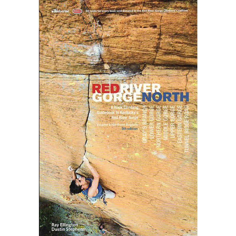 Red River Gorge Rock Climbs North 5e édition