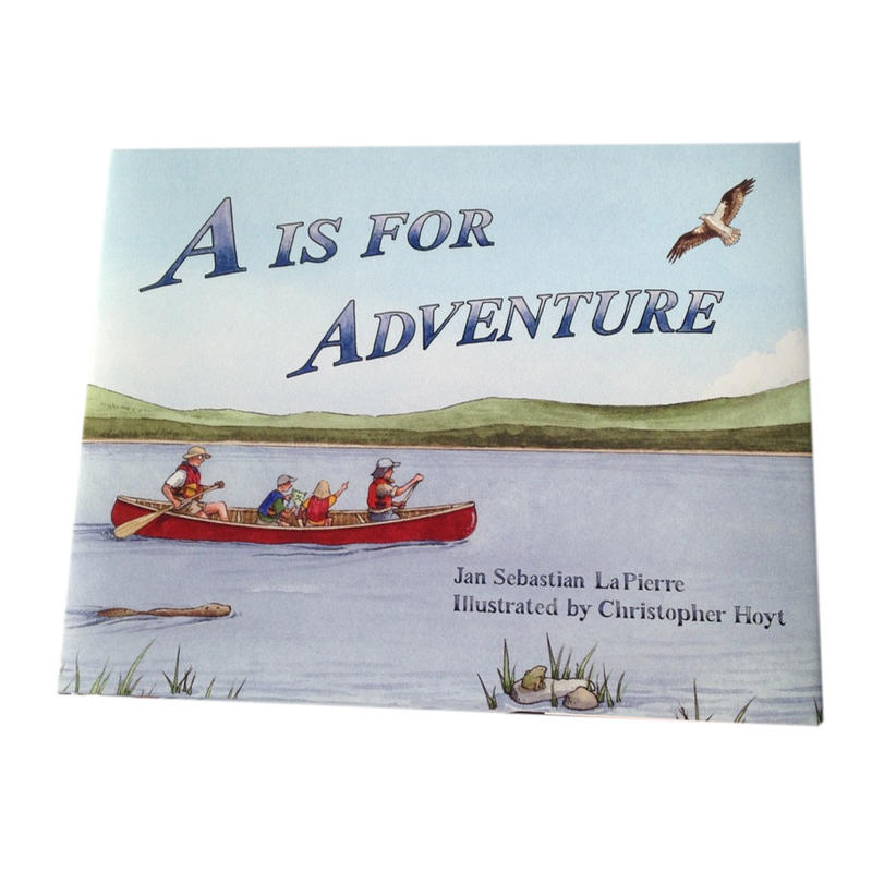 A Is For Adventure (couverture rigide)