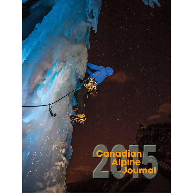 Journal Canadian Alpine 2015