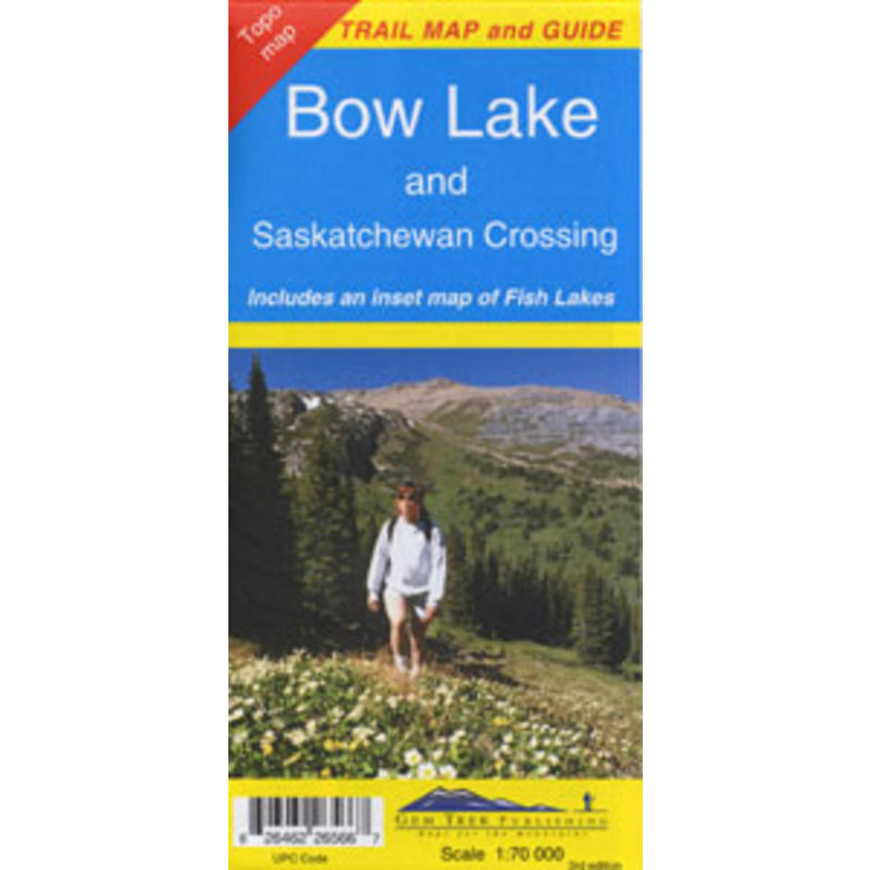 Bow Lake Sask. Crossing Map