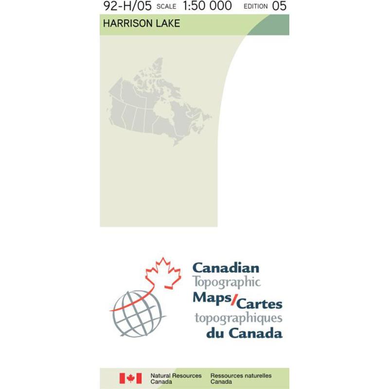 C.M. 92H05-HARRISON MAP