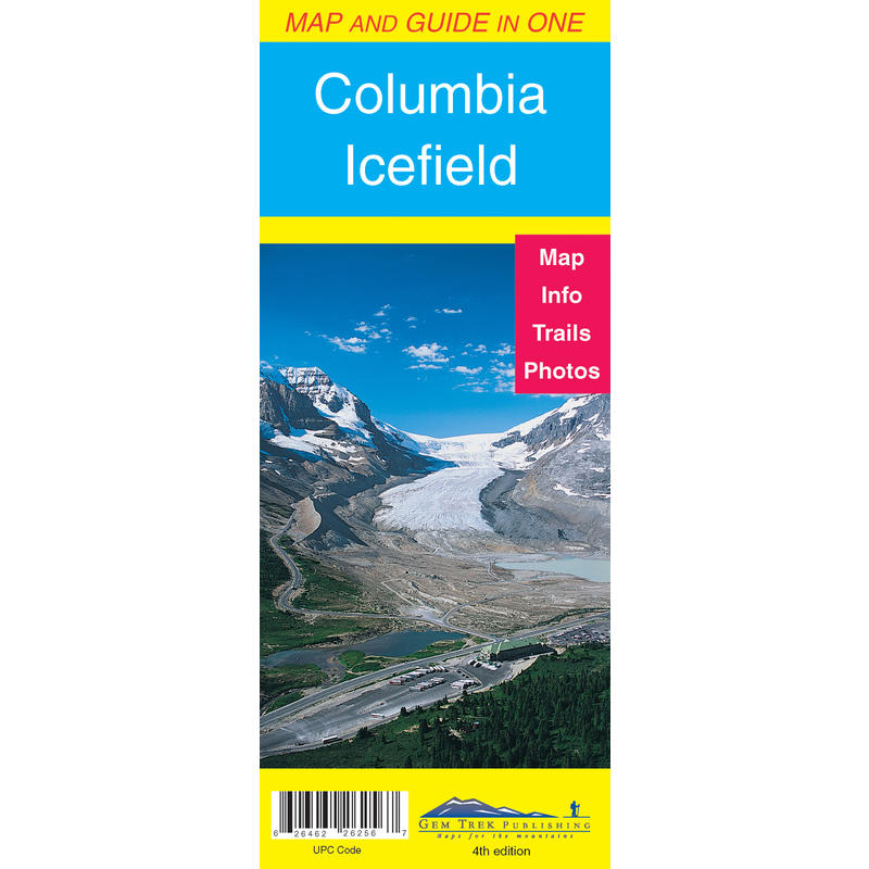 Columbia Icefield Map& Guide