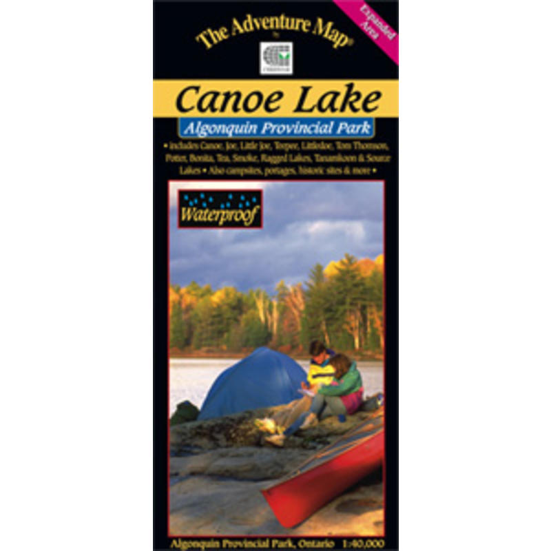 Algonquin - Canoe Lake Map