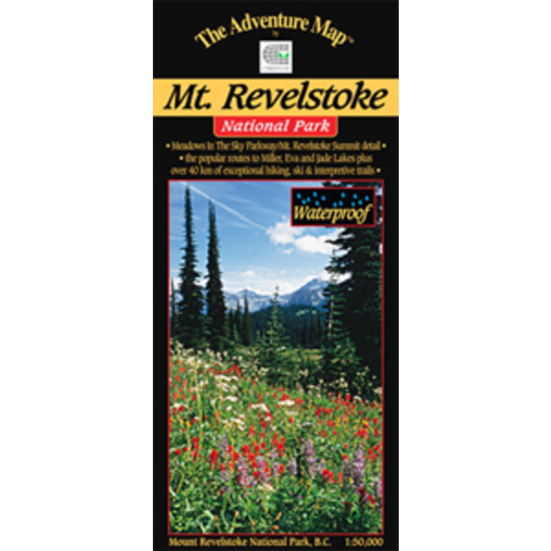Mount Revelstoke N.P. Map