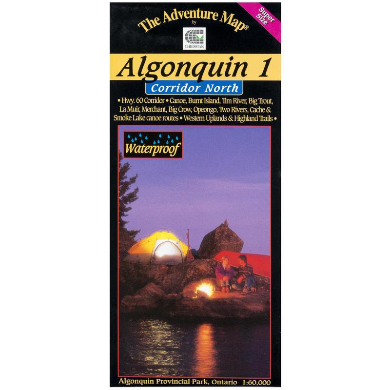 Algonquin P.P.1 Map - North