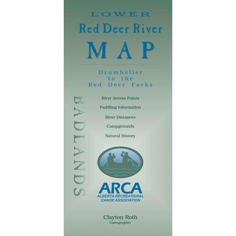 Lower Red Deer River Map
