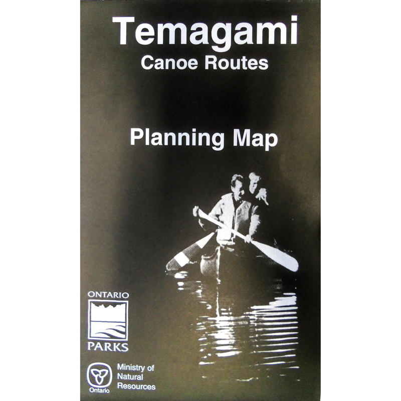 Temagami Canoe Routes Map