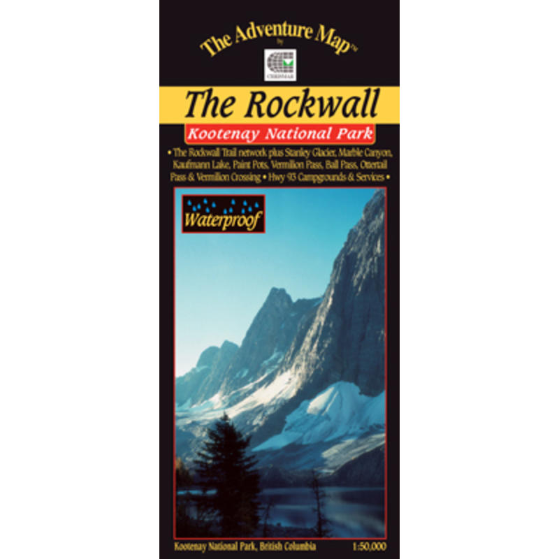 Kootenay N.P.- The Rockwall Map