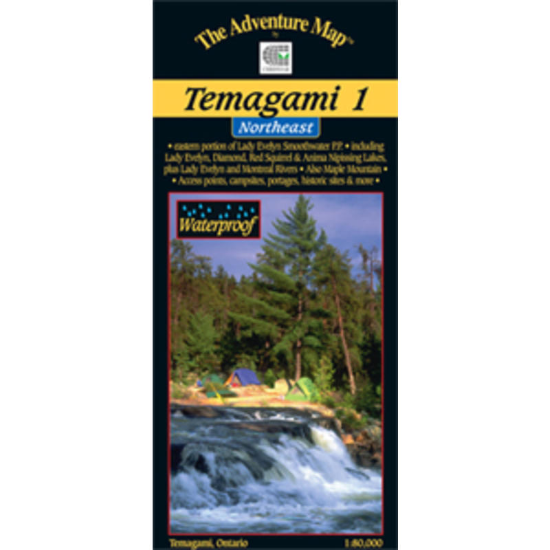 Temagami 1 - Northeast Map
