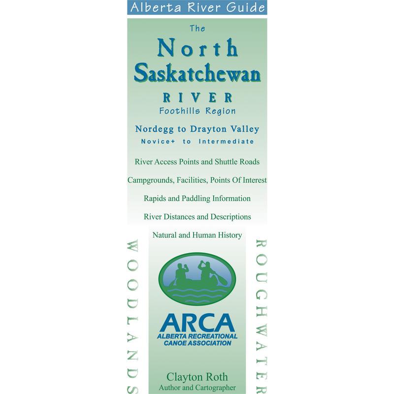North Saskatchewan River Guide Map