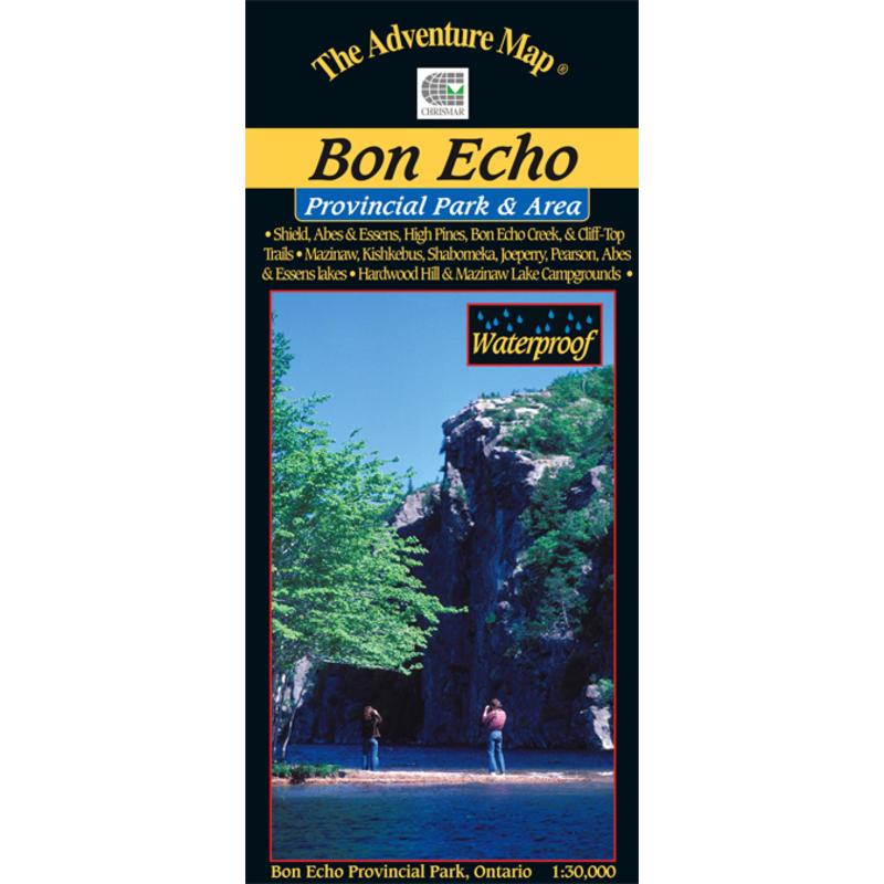 Bon Echo Provincial Park Map