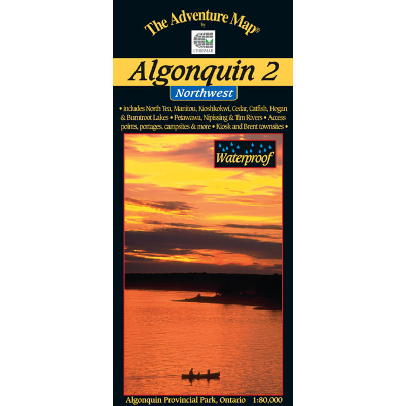 Algonquin 2-Northwest Map